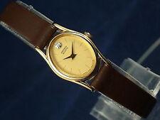 Vintage Seiko Quartz Ladies Watch 2C20-6399 Circa 1979 New Old Stock NOS