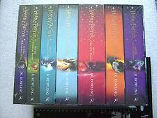 Harry Potter Teil 1-7 Bücher englisch Taschenbuch 1 2 3 4 5 6 7 original OVP