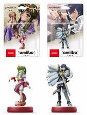 Nuovo Nintendo Amiibo Fire Emblem Tiki & Chrom Set Da Giappone F/S