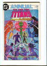 New Teen Titans (vol 2) Annual 1. DC 1985 -  VF