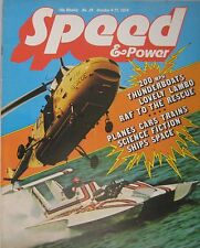 Speed & Power magazine 4 October 1974 Issue 29