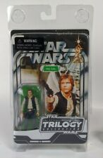 Star Wars Trilogy Collection Unpunched Card Han Solo 2004