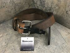 """Versacarry Extra Heavy Duty Double Ply Carry Belt - Water Buffalo Brown - 38"""""""
