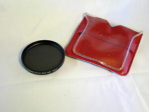 Canon Genuine 52mm N.D. 0.6 Lens Filter Made in U.S.A. w/ sleeve neutral density