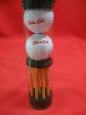 UTICA CLUB GOLF BALLS AND TEES SET - NEVER USED