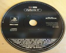VIGILANTE 8 DEMO DISC for SONY PLAYSTATION 1 PS1 RARE