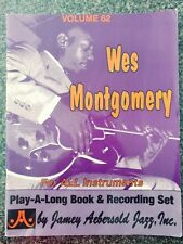 VTG Wes Montgomery Play-A-Long Book & Recording Set (CD included), Vol. 62