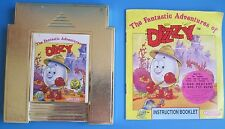 The Fantastic Adventures of Dizzy (Nintendo) NES Game with Instruction Book