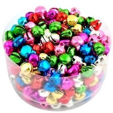 50 Chochottes Grelot Multicolore Pendentif, 6 mm