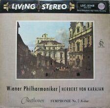VIENNA PHILHARMONIC ORCHESTRA - HERBERT VON KARAJAN - BEETHOVEN -  LP