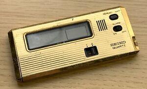 Seiko 7401-002G Quarzo 103 MM No Funziona For Parts Watch Allarme