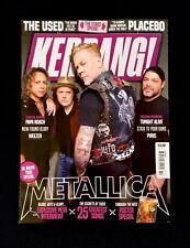 KERRANG No.1693 21/10/2017 METALLICA UK ARENA TOUR
