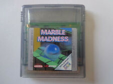 GameBoy Color Spiel - Marble Madness (Modul)
