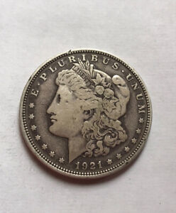 Us Silver Dollar 1921