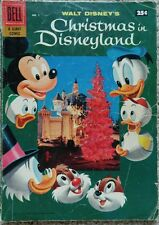 "DELL GIANT ""CHRISTMAS IN DISNEYLAND"" #1 GD/VG 3.0 DELL 1957"