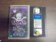 "USED VHS Movie ""CASPER"" A Spirited Beginning""  (Clear Case)"