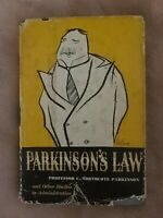 Vintage 1st Edition 1st Printing Parkinsons Law By C Northcote Parkinson 1957
