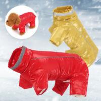 à l'eau garçon / fille combinaison toutou refait veste pet chaud manteau chien.