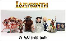 Labyrinth Full 8 doll set  -  FaBi DaBi Dolls