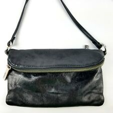 Hobo The Original Purse Small Leather Crossbody Foldover Shoulder Messenger Bag