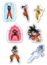 **Legit** Dragon Ball Z Goku Evolution Fight Authentic Puffy Sticker Set #55476