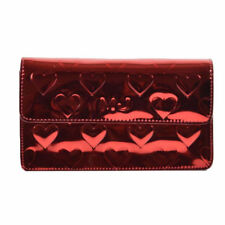NEW Marc by Marc Jacobs MIRROR HEART Crossbody Clutch Red