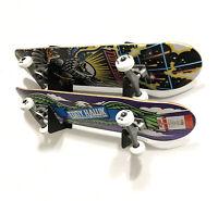 Dual Skateboard Wall Mounting Storage & Display Brackets Longboard Mini Board
