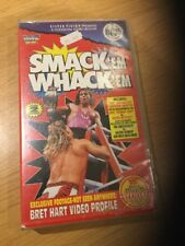 WWF SMACK 'EM WHACK 'EM WRESTLING VIDEO VHS WWE Ladder BRET HART