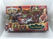 Power Rangers Jungle Fury Red Tiger Strike Rider Bike Motorcycle Figure NEW