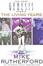 Genesis The Living Years The First Genesis Memoir BRAND NEW FREE SHIP TRACK US