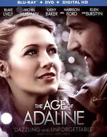 The Age of Adaline (DVD + Blu-ray) New, Free Shipping