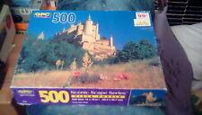 "GPC Scenic Scape Series Jigsaw Puzzle - Castle Alzar Spain 14"" x 18"" (500 pc)"