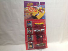 SPEED RACER SET OF 4 CARS-JOHNNY LIGHTNING-DIE CAST-1997-1:64