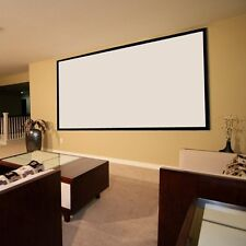 """Portable 100"""" Inch 16:9 Fabric Matte Projector Projection Screen Cinema Theater"""