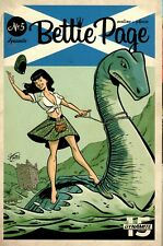Bettie Page #5 In Search of the Loch Ness Monster