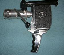 Bolex C8 Paillard 8mm movie camera with SOM Berthiot zoom lens.
