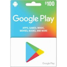 $100 Google PlayStore Gift Card (US)