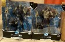 Two (2) McFarlane Justice League Darkseid: Armored & Non Armored; DC Multiverse
