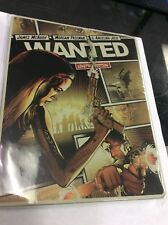 Wanted  Limited Edition Steelbook (BLU-RAY, DVD 2-Disc Set) A8
