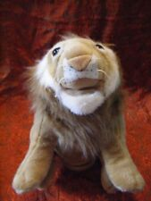 "PEEKO LARGE LION PUPPET  SOFT TOY 16"" APPROX VGC (B55)"