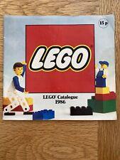 1986 Lego Catalogue / Brochure, Basic, Fabuland, Technic Trains etc