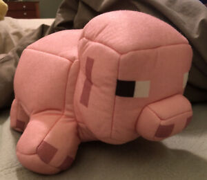Mojang Minecraft Reversible Pig Pork Chop Plush Toy New Without Tag