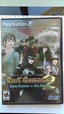 Shin Megami Tensei: Devil Summoner 2 (Playstation 2) complete and nearly perfect