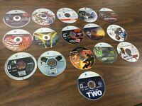 16 Xbox 360 GAMES LOT Marvel Ultimate Alliance Hitman Blood Money Disc Only
