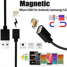 2.4A Magnet Micro USB Type C Datenkabel Ladekabel Adapter Für Samsung Android LG