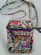 Vera Bradley Viva La Vera Mini Hipster Crossbody Bag Purse Floral Multi Color