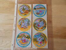 Ferrero Aufkleber Happy Hippos D 1996  Noch auf original Folie !!!