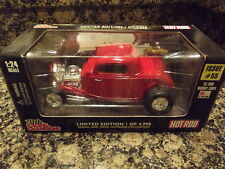 Die Cast Metal Racing Champions Hot Rod 1933 Ford Highboy Coupe limited edition