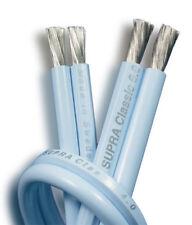 SUPRA CLASSIC 2X4.0 BLUE 10M CAVO DI POTENZA NUOVO GARANZIA ITALIA