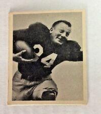 1948 BOWMAN FOOTBALL MARLIN ( PAT ) HARDER ROOKIE CARD #29 NICE CARD